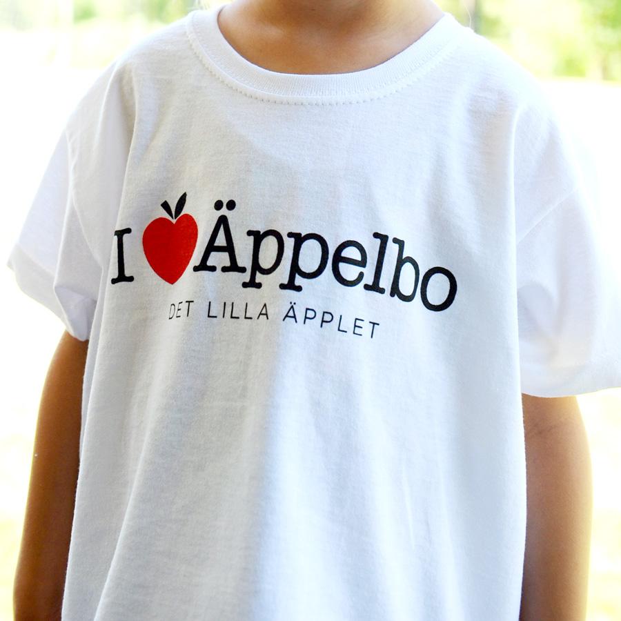 T-shirt barn Äppelbo